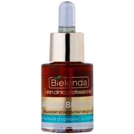 Bielenda Skin Clinic Professional Argan Bronzer samoporjavitveno olje za obraz  15 ml