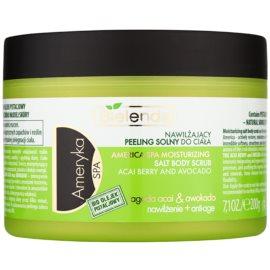Bielenda SPA America sal para peeling para corpo com óleo de pistachio  200 g