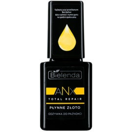 Bielenda AXN Total Repair Liquid Gold regenerierender Conditioner für Nägel Farbton Milky 11 ml