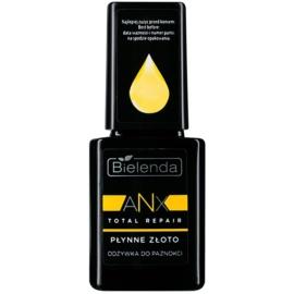 Bielenda AXN Total Repair Liquid Gold après-shampoing régénérant ongles teinte Milky 11 ml
