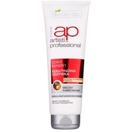 Bielenda Artisti Professional Color Keratin regenerační kondicionér pro barvené vlasy  250 ml