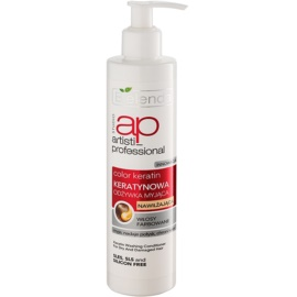 Bielenda Artisti Professional Color Keratin condicionador de queratina para cabelo seco a danificado  250 ml