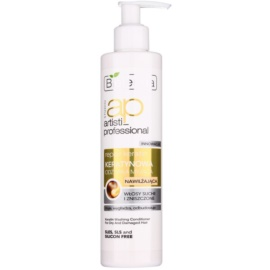 Bielenda Artisti Professional Repair Keratin hydratační kondicionér pro suché a poškozené vlasy  250 ml