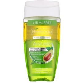 Bielenda Avocado nježno dvofazno sredstvao za uklanjanje make-upa za osjetljive oči  125 + 15 ml