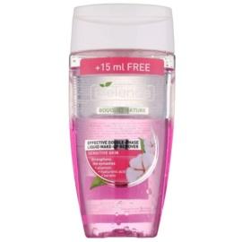 Bielenda Cotton removedor de maquilhagem de olhos bifásico para reforçar as pestanas sensíveis  125 + 15 ml