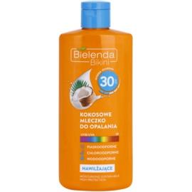 Bielenda Bikini Coconut lotiune hidratanta SPF 30  200 ml
