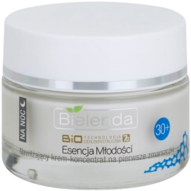 Bielenda BioTech 7D Essence of Youth 30+ Feuchtigkeitsspendende Nachtcreme für erste Falten  50 ml