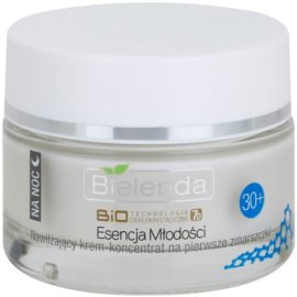 Bielenda BioTech 7D Essence of Youth 30+ crema de noapte hidratanta pentru primele riduri  50 ml