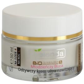 Bielenda BioTech 7D Youthful Glow creme nutritivo e hidratante para pele seca a sensível  50 ml