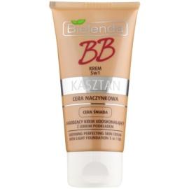 Bielenda Chestnut BB creme calmante para a pele com veias dilatadas tom Medium 40 ml