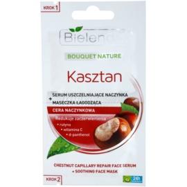 Bielenda Chestnut Gesichtsmaske für geweitete und geplatzte Venen  2 x 5 g