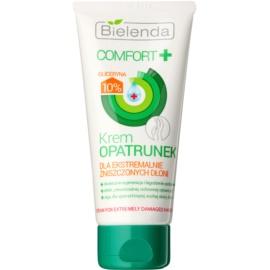 Bielenda Comfort+ nährende Aktivcreme für stark beschädigte Haut an den Händen  75 ml