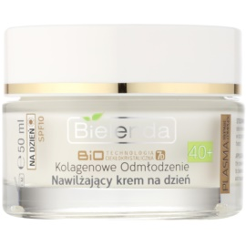 Bielenda BioTech 7D Collagen Rejuvenation 40+ creme de dia hidratante SPF 10   50 ml