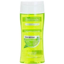 Bielenda Cucumber&Lime mattierendes Tonikum für fettige Haut  200 ml