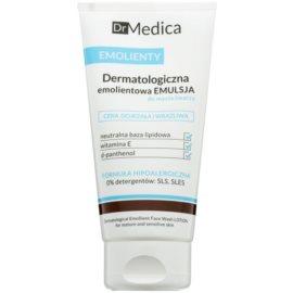 Bielenda Dr Medica Emollients dermatologiczna emulsja nawilżająca do mycia twarzy wrażliwej i dojrzałej skóry  150 ml
