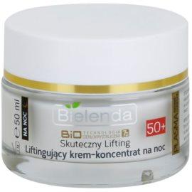 Bielenda Effective Lifting regenerierende Nachtcreme gegen Falten 50+  50 ml