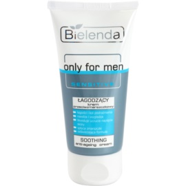 Bielenda Only for Men Sensitive crème apaisante anti-rides  50 ml