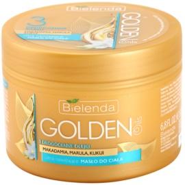Bielenda Golden Oils Ultra Hydration Intensief Body Butter  met Hydraterende Werking   200 ml
