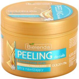 Bielenda Golden Oils Ultra Hydration peeling corporal  com efeito hidratante  200 ml