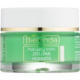 Bielenda Green Tea crème de jour matifiante pour peaux mixtes  50 ml