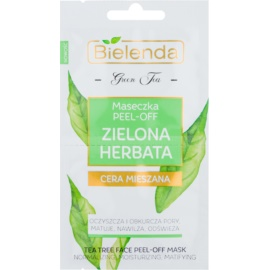 Bielenda Green Tea Peel-Off Mask For Skin With Imperfections  2 x 5 g