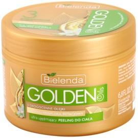 Bielenda Golden Oils Ultra Firming tělový peeling pro zpevnění pokožky  200 ml