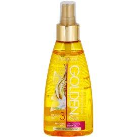 Bielenda Golden Oils Ultra Nourishing olje v pršilu za telo za suho kožo  150 ml