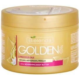 Bielenda Golden Oils Ultra Nourishing intenzivní tělové máslo pro suchou pokožku  200 ml