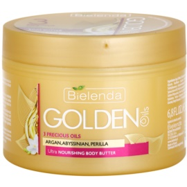 Bielenda Golden Oils Ultra Nourishing masło do ciała o intensywnym działaniu do skóry suchej  200 ml