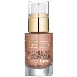 Bielenda Highlight & Contour Highlighter Farbton Bronze 15 ml