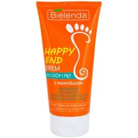 Bielenda Happy End antibakterielle Creme für die Füße  125 ml
