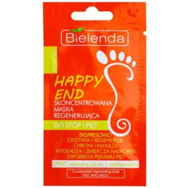 Bielenda Happy End konzentrierte Maske für Fußsohlen und Fersen mit regenerierender Wirkung  10 g