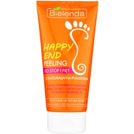 Bielenda Happy End piling za stopala in pete z naravnim plovcem  125 g