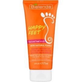 Bielenda Happy Feet пілінг для ніг та п'ят з натуральною пемзою  175 мл