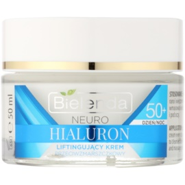 Bielenda Neuro Hyaluron crema concentrata con effetto lifting 50+  50 ml