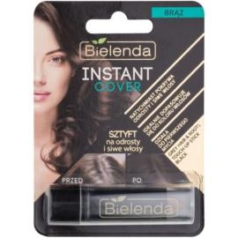Bielenda Instant Cover Haarfärbestift für Ansätze und graues Haar Farbton Brown 4,3 g