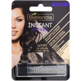 Bielenda Instant Cover Haarfärbestift für Ansätze und graues Haar Farbton Black 4,3 g