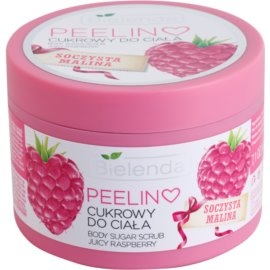Bielenda Juicy Raspberry Hautpeeling mit Zucker  200 g