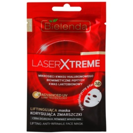 Bielenda Laser Xtreme plátýnková maska se zpevňujícím účinkem