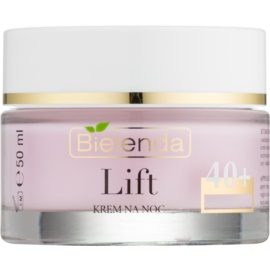 Bielenda Lift Anti-Wrinkle Night Cream With Smoothing Effect 40+  50 ml
