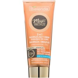 Bielenda Magic Bronze creme bronzeador para pele clara com efeito hidratante  200 ml