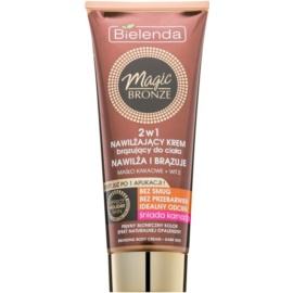 Bielenda Magic Bronze Self-Tanning Cream for Dark Skin With Moisturizing Effect  200 ml