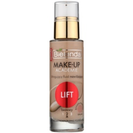 Bielenda Make-Up Academie Lift make up hidratant pentru protectia tenului culoare Beige 30 ml