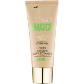Bielenda Total Look Make-up Nude Match fond de teint fluide pour un teint unifié teinte Light Beige 01 30 g