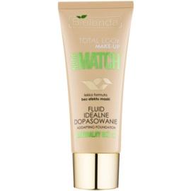 Bielenda Total Look Make-up Nude Match fond de teint fluide pour un teint unifié teinte Natural Beige 02 30 g