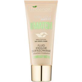 Bielenda Total Look Make-up Nude Match fond de teint fluide pour un teint unifié teinte Sunny Beige 03 30 g