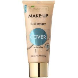 Bielenda Make-Up Academie Cover base para pele com imperfeições tom 1 Natural 30 g