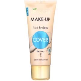 Bielenda Make-Up Academie Cover fond de teint pour peaux à imperfections teinte 2 Beige 30 g