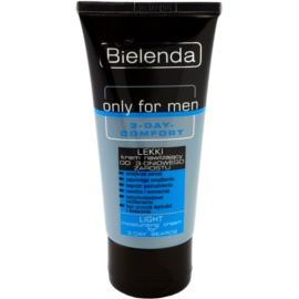 Bielenda Only for Men 3-Day Comfort lehký hydratační krém pro zklidnění pleti  50 ml