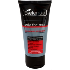 Bielenda Only for Men Strong Power regenerierende Creme gegen Falten  50 ml